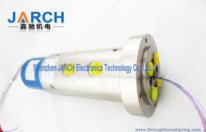 China Alliage d'aluminium par la bague collectrice ennuyée avec la longueur d'avance de 300mm, vie 50million active on sale
