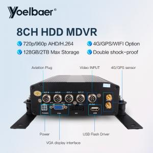 China High Stable 8ch DVR AHD 720P 4G GPS Tracking On Mobile Phone Computer APP on sale