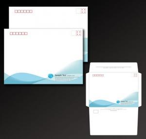 China colorful custom logo printed paper receipt envelope, High quality custom DL envelope printing on sale