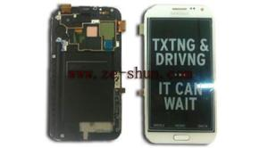China High Resolution Cell Phone LCD Screen Replacement for Samsung GALAXY Note II / N7105 on sale