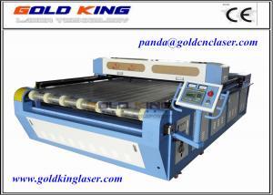 China Vision Laser Machine | Heat Tranfer Printing Fabric Cutting Machine with Scanning Camera on sale
