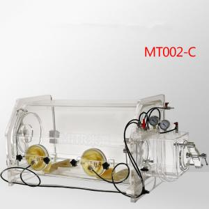 China Chemical Research Transparent Glove Box , Plastic Glove Box Anti - Corrosion on sale