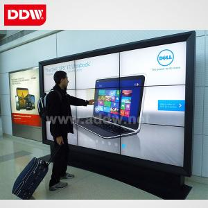 China 10mm Narrow bezel Samsung LCD video wall with LED backlight 1920x1080 on sale