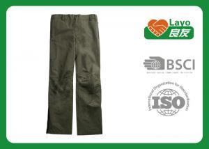 China Multi Function Quick Dry Mens Pants , Zip Off Hiking Pants Anti - Uv on sale