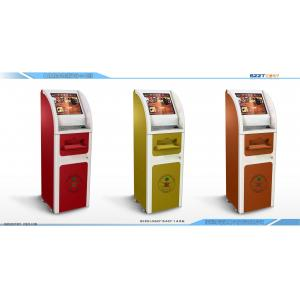 China Interactive Information Kiosk  & Internet Lobby Kiosk with A4 Printer ZT2081-A01 on sale