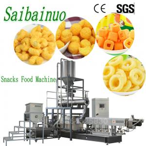 China Industrial Automatic Corn Cheese Puff Snacks Food Making Machine Price on sale