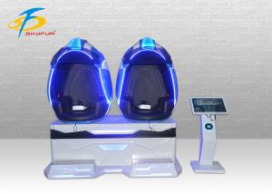 China 2 Seats 9D VR Cinema 3 DOF Motion 4D Chair Virtual Reality Equipment For VR Theme Park on sale