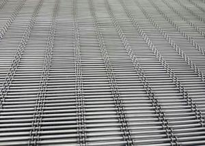 China Crimped Type Self Cleaning Screen Mesh For Pig Flooring with 10x50 Mm Aperture on sale