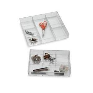 China Cosmetic Acrylic Drawer Organizer With Fashion Shape on sale