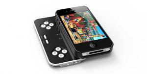 China Slide out Iphone4S Bluetooth Keyboards Cases with Game Controller / Joypad china Factory on sale