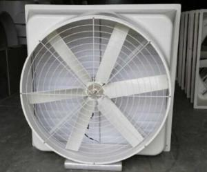 China 370 W FRP Exhaust Ventilation Fan For Poultry Cooling Equipment 620 R/Min Speed on sale