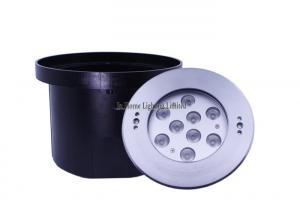 China Embedded LED Underground Light , 6000K 160mm Diameter DMX RGB LED Pool Lights on sale