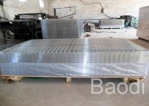 China Agricultural Square Wire Mesh Panels With Smooth / Rough Edge 25 - 150mm Aperture on sale