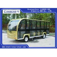 18 Person Electric Shuttle Bus For Kid Tourist / Electric Passenger Carts