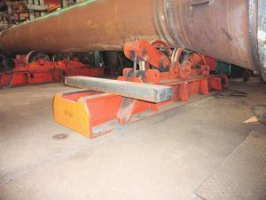 China Hydraulic Fit - Up Rotator Adjust Wheels Height Welding Turning Roll For Big Pipe on sale