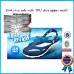 New Arrived PCU PVC Air Blowing Children Slipper Mould For Sale