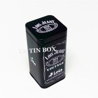 67mm Metal Spice Tins Square Storage Boxes Airtighted Inner Lid Metal Tin Box