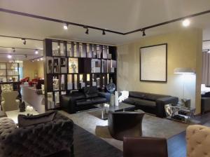 Quality Leather Modern Fabric Sofas , Living Room Black Adjustable Backrest Sofa for sale