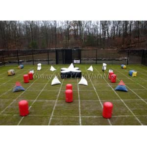 China Outdoors Inflatable Paintball Bunker Field  For Adults on sale