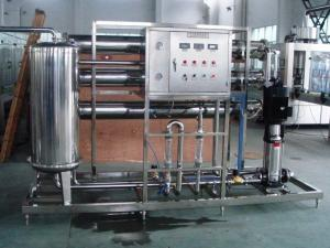 China 2 stage RO Water Treatment Equipments for preparation of water for beverage industry on sale