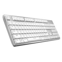 China Bluetooth Mechanical Gaming Keyboard , White Gaming Keyboard With Portable Design on sale
