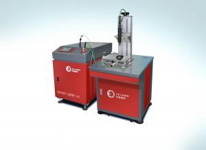 China Alta precisión que suelda con autógena manera auto manual de la refrigeración por agua del uso del duelo de la máquina del laser on sale