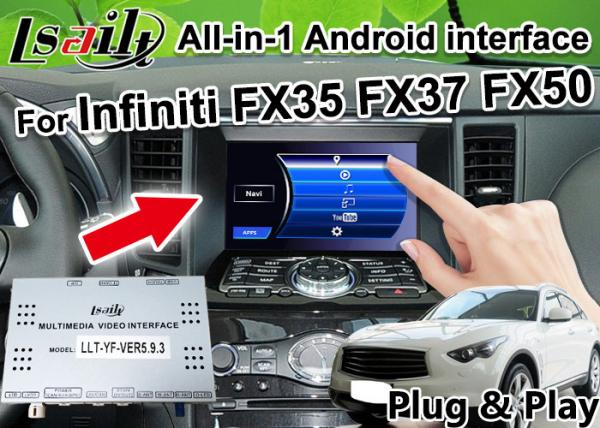 All-in-1 Android Auto Interface for Infiniti FX 35 FX37 FX50