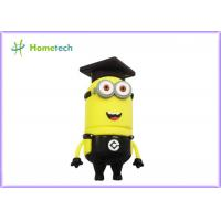 3D Black Cartoon USB,Custom USB Flash Drive with Best Price , Black Minion USB Flash Drive