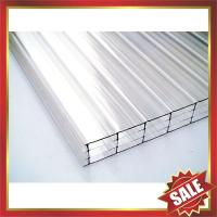 China four layers polycarbonate sheet,multiwall PC sheet,hollow pc panel,pc hollow board,excellent temperature resistance ! on sale