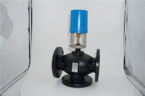 China 220VAC Electric Ductile Iron Motorised Globe Valve DN40 Linear Actuator on sale