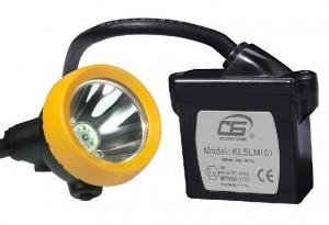 China 15000lux super bright led rechargeable coal miner torch KL5LM mining hard hat led lights on sale