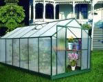 Equipos al aire libre del invernadero de la afición del tablero/del policarbonato de PC de 4m m/de 6m m para la flor con ULTRAVIOLETA