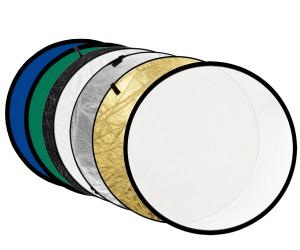 China Portable 7in1 Multi Collapsible Disc Photo Reflector RFT-010 gold,silver,black,white,translucent,green,blue on sale