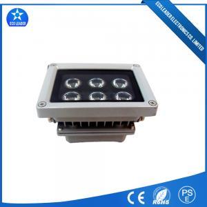 China IP65 Aluminum Reflector 6*1W Flood Light Epistar Decration Lighting 100lm/w on sale
