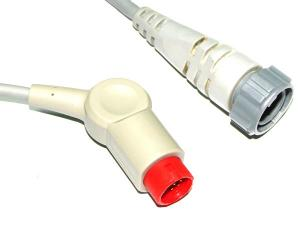 China Philips / HP Edwards IBP Cable , Invasive Blood Pressure Cable 6 Pin on sale