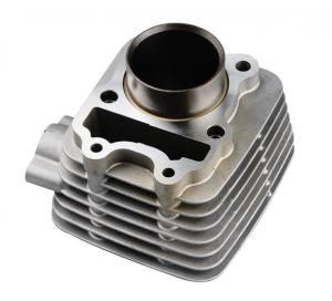 China Air Cooled Motorcycle Aluminium Cylinder Block BAJAJ-C With 52.4mm Diameter on sale