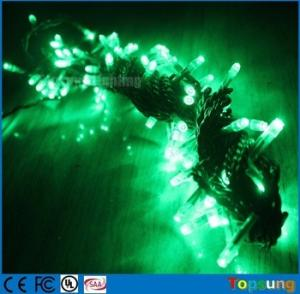 China 100v green 100led twinkle fairy string lights 10m with high quality on sale
