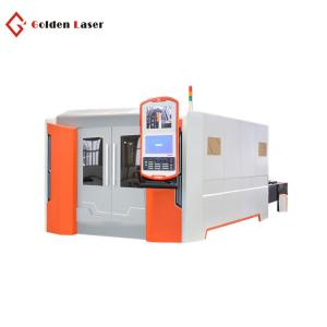 China 1500w carbon stainless aluminum metal sheet cnc fiber laser cutting machine with best price on sale