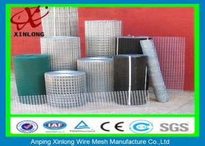 China Hot Dipped 2x2 Galvanized Welded Wire Mesh Rolls For Industry Area on sale