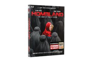 China Free DHL Shipping@Classic and New Release Blu-Ray DVD Movie Wholesale Homeland Season 4 on sale