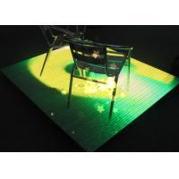Professional P9mm LED Dj Stage Dance Floor , LED Lighted Dance Floor Panels Rental