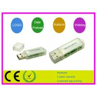 China Windows XP 64MB, 128MB, 4GB, 8GB Customized USB Flash Drive AT-205 with  lanyard on sale