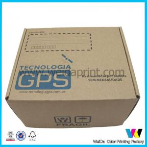 China Electronic Products Decorative Paper Boxes , Embossed Wrapping Paper Box on sale