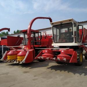 China Diesel Second Hand Maize Combine Harvester 140hp Power 240cm Working Width on sale