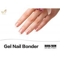 High Gloss Finish Clear Gel Nail Bonder For Nail Beauty No Toluene / Solvent