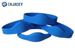 China Custom RFID Silicone Wristband Waterproof on sale