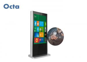 China 65 Inch Touch Screen LCD Display Android Windows Free Standing Digital Signage on sale
