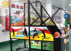 China Street  Basketball Arcade Coin Operated Game Machine For 1 Or 2 Players on sale