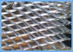 Diamond Hole Aluminum Flattened Expanded Sheet1.2 X 2.4m Nature Surface