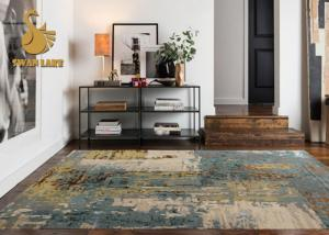 China Different Color Contemporary Modern Area Rugs For Living Room OEM / ODM Available on sale